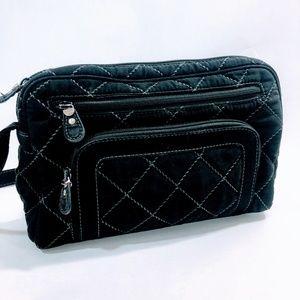 3/$25💛 Vera Bradley Quilted Black Crossbody Bag